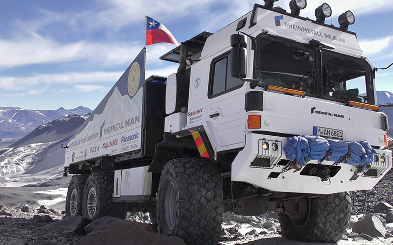 Rheinmetall MAN High Altitude Truck Expedition